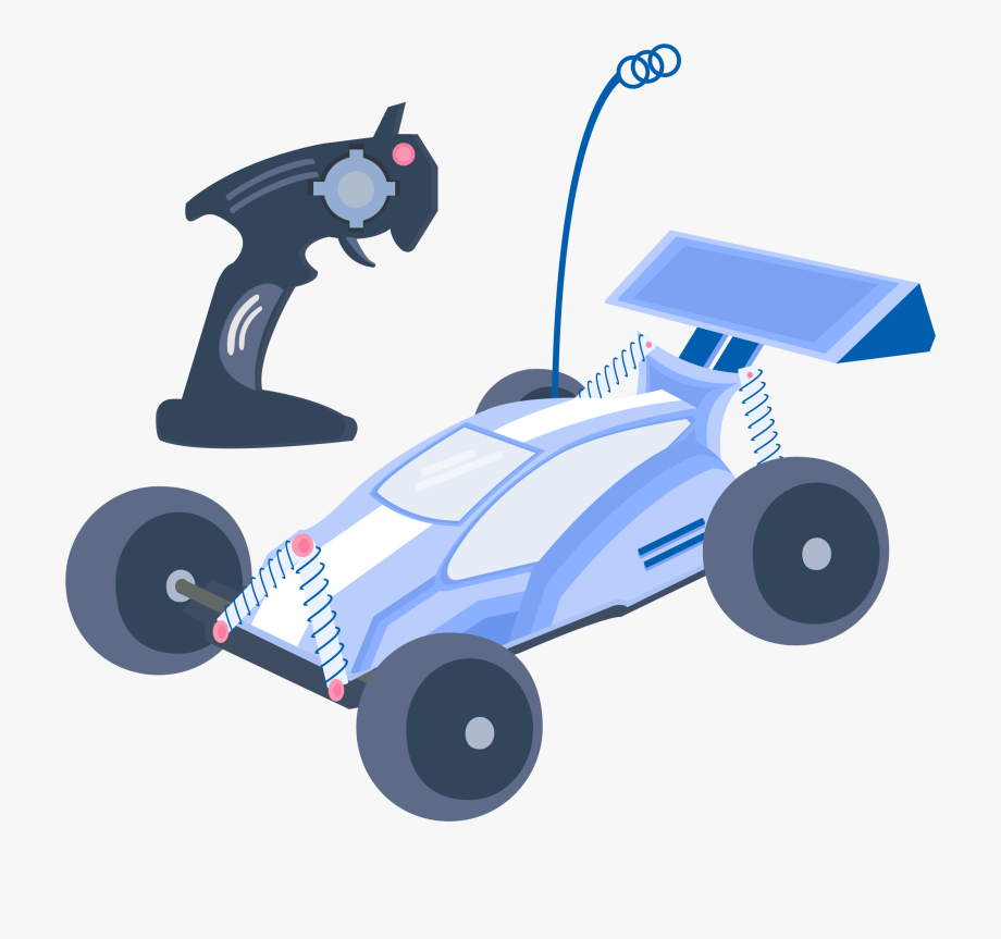 Toy control car . Clipart cars remote
