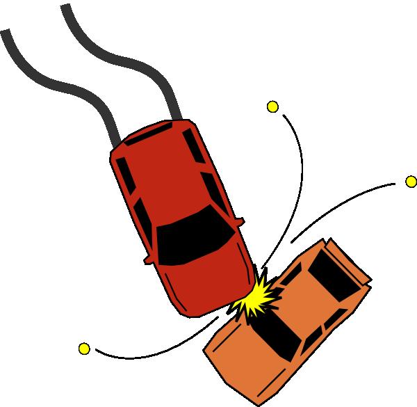 Car accident collision clip. Clipart cars road