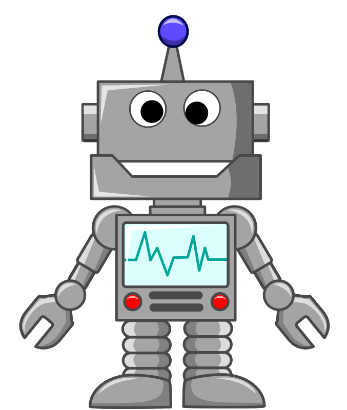 knight clipart simple robot