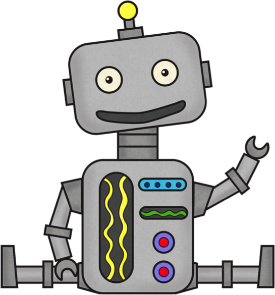 Technology clipart cute. No robots cliparts free