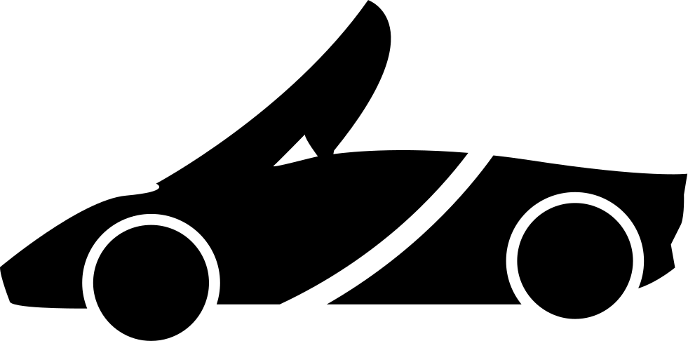 Clipart car silhouette. Top down sports svg