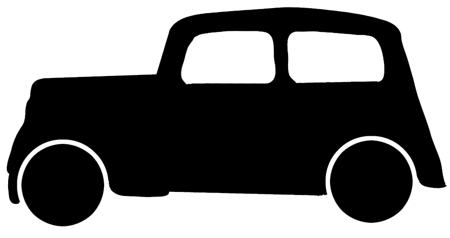 Graphics. Clipart car silhouette