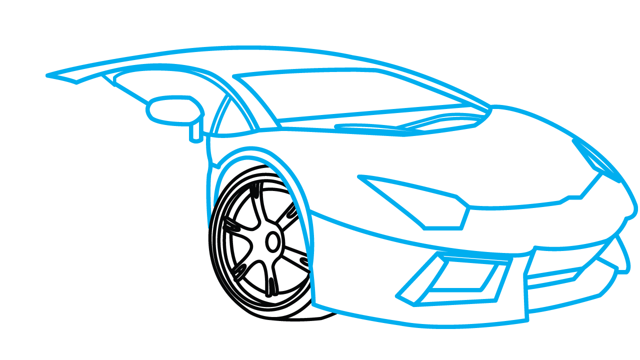 Step by drawing car. Clipart cars pencil