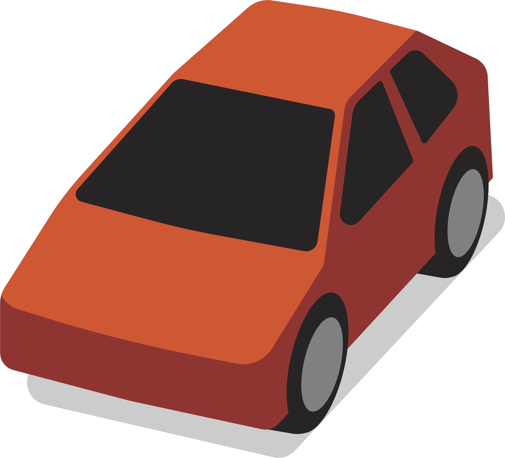 Clipart cars simple. Generic car png download