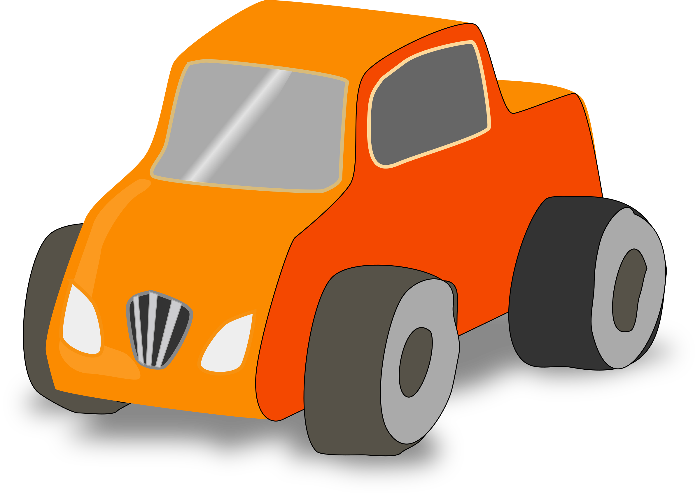 Clipart cars simple. Toy car truck big