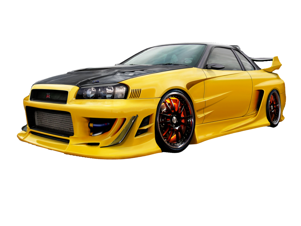 Nissan r png download. Clipart cars skyline