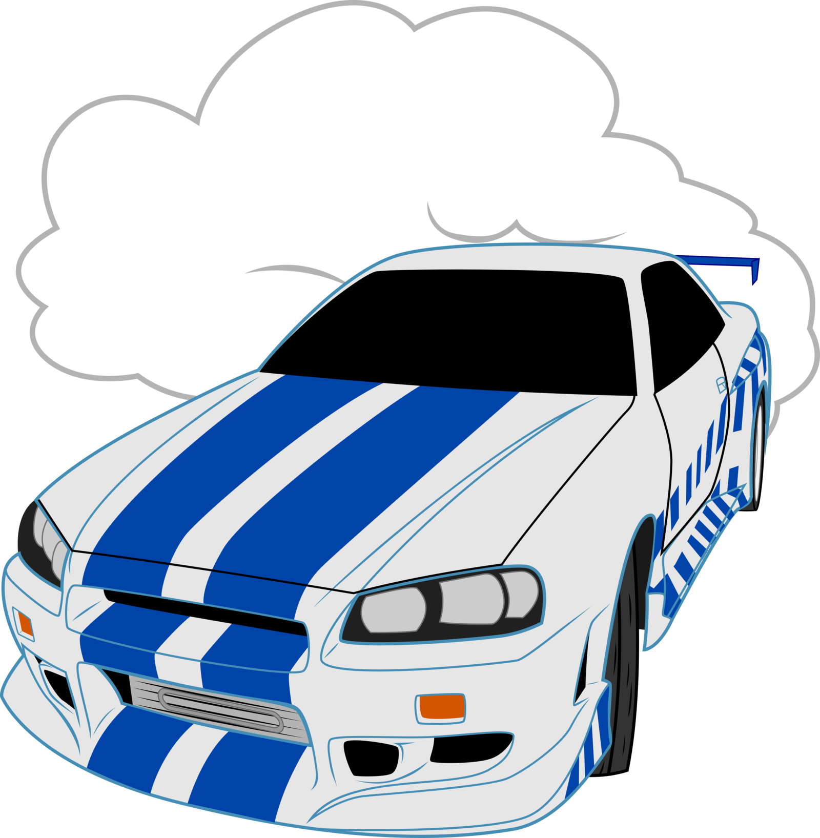 Clipart car skyline. Nissan gt r png