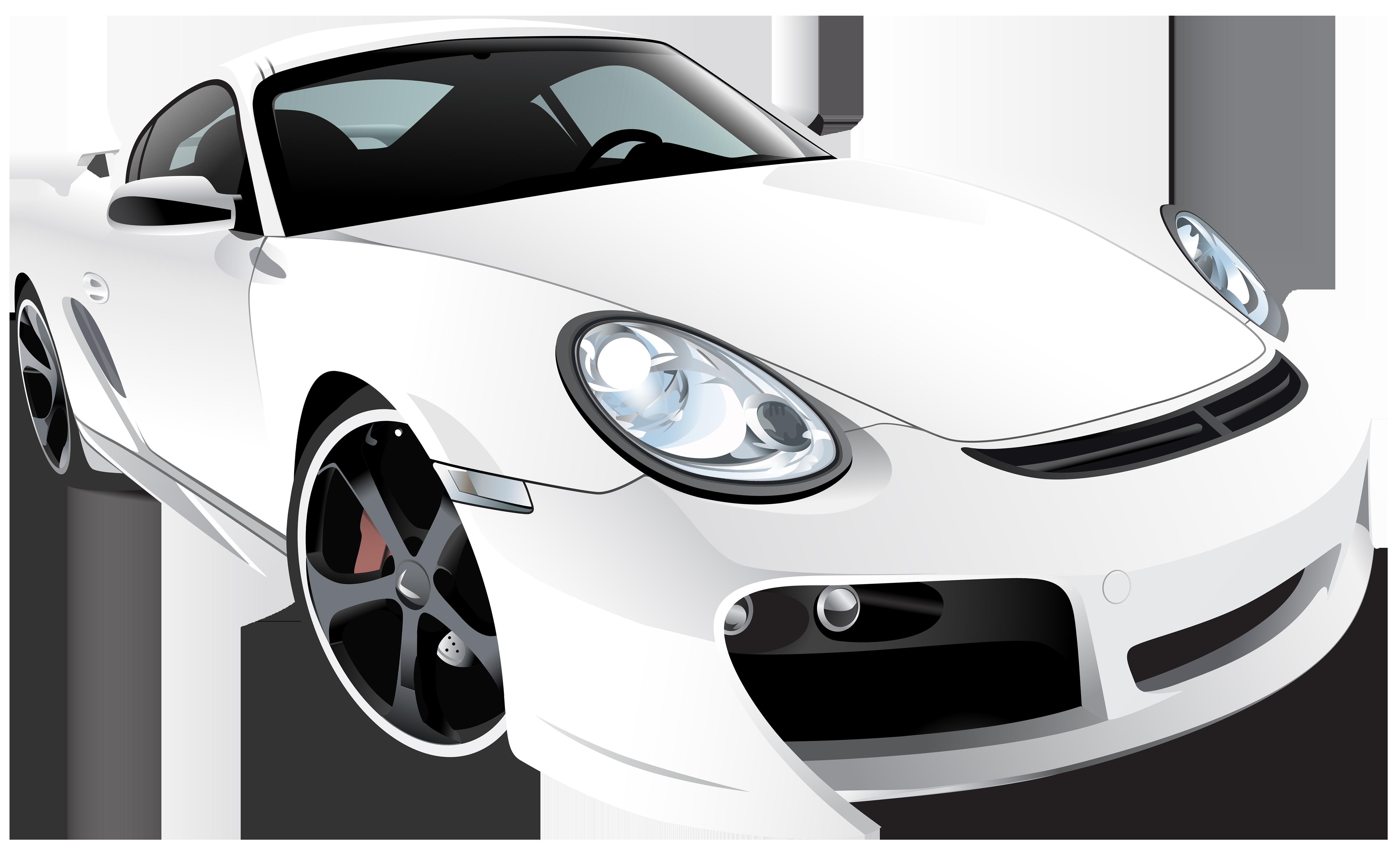 White car png clip. Emoji clipart sport