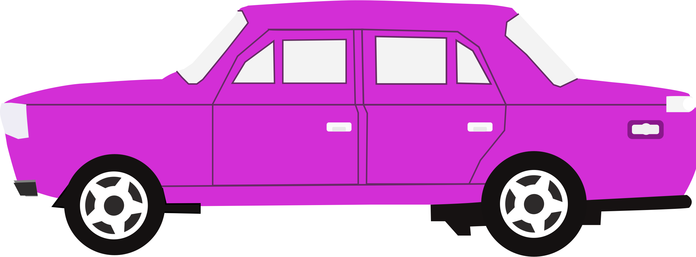 Square clipart car. Purple big image png