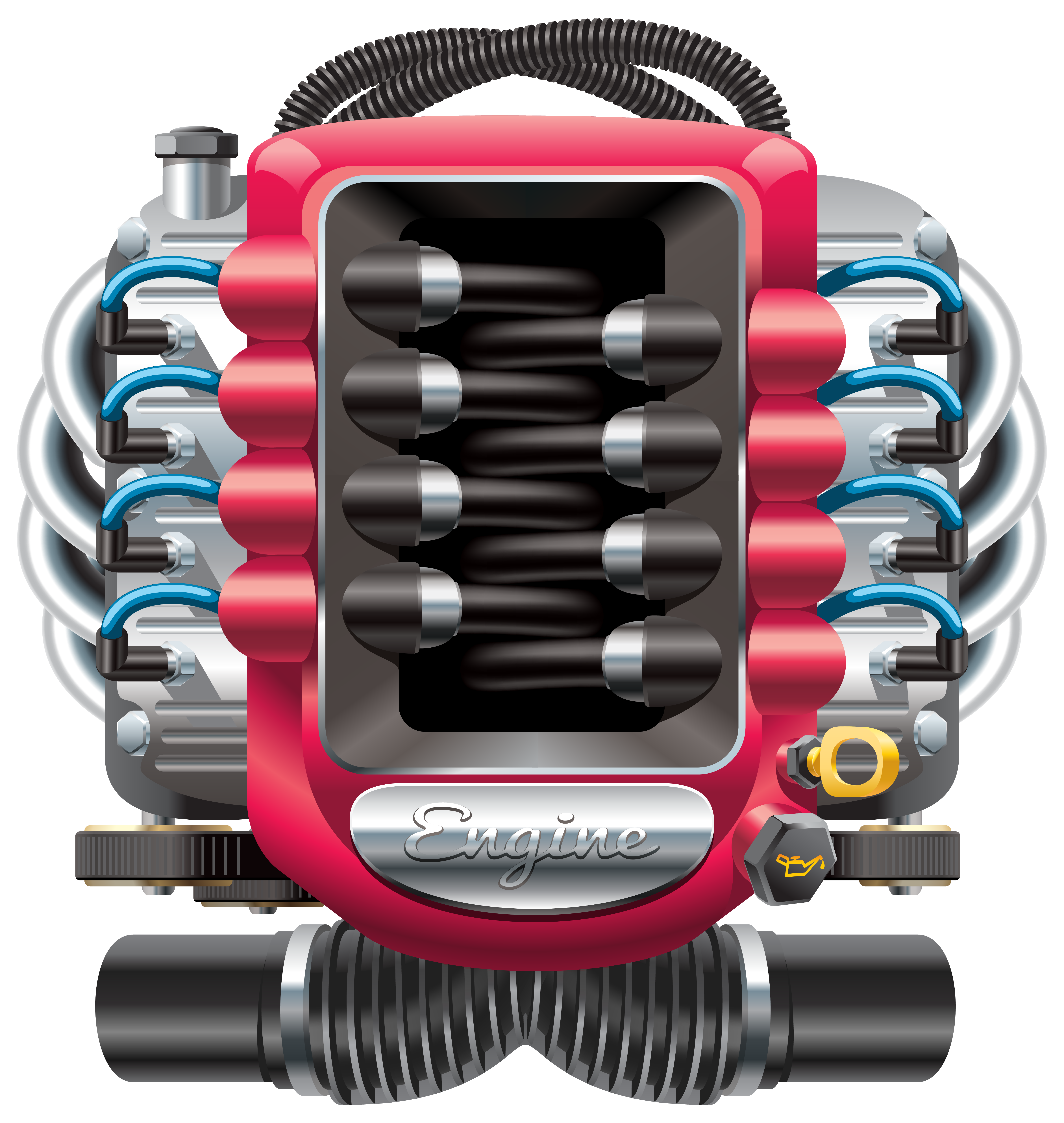 Car engine png clip. Clipart cars summer