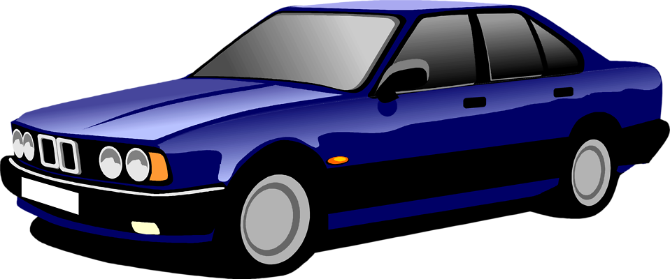 Blue pencil and in. Fast clipart cartoon car