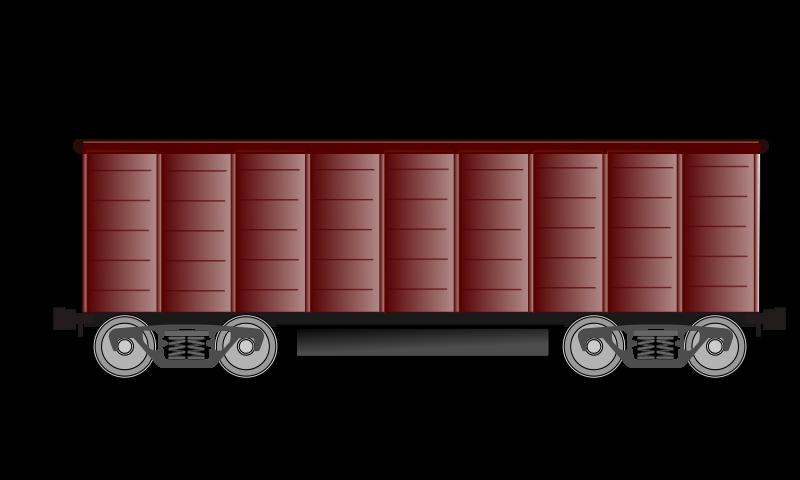 Wagon medium image png. Coal clipart wood chip