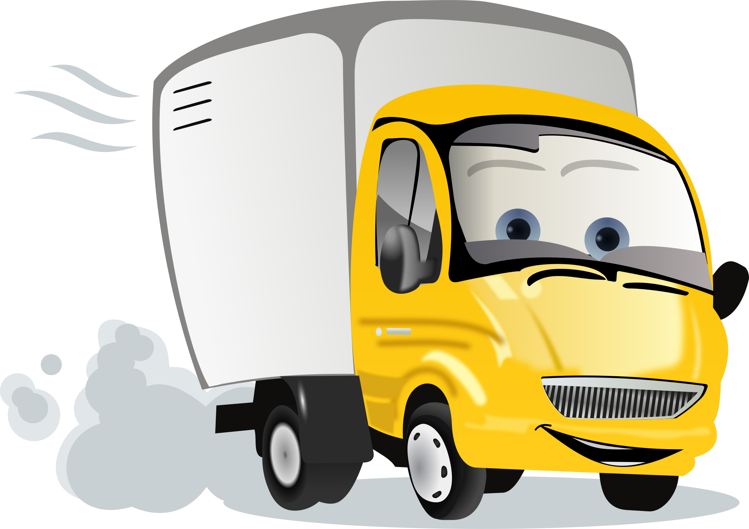 Pollution clipart truck. Cartoon trucks image group