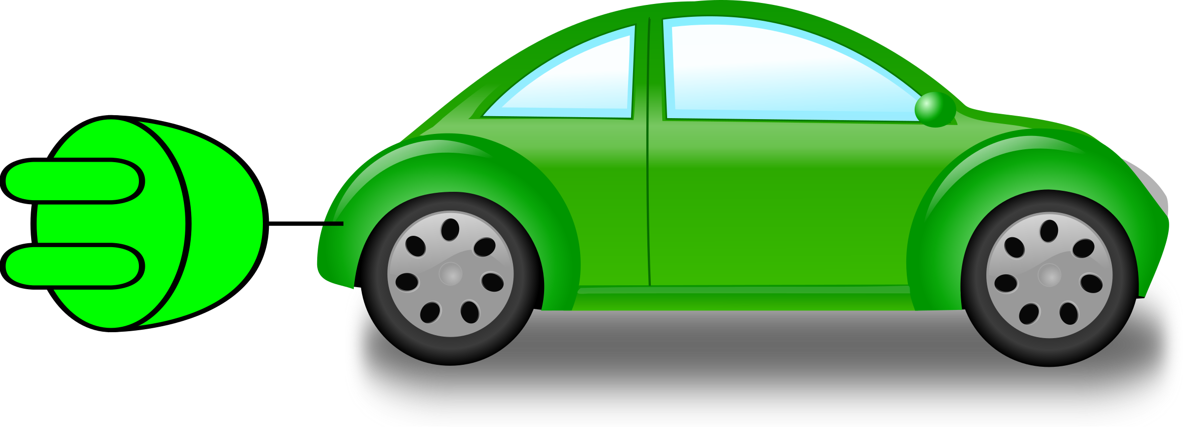 Clipart car vector. Electric cars clipground