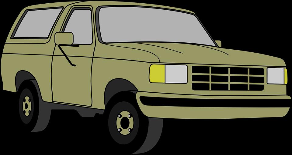 Clipart car vector. Jeep green frames illustrations