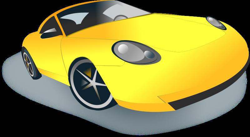 Clipart car vector. Public domain clip art