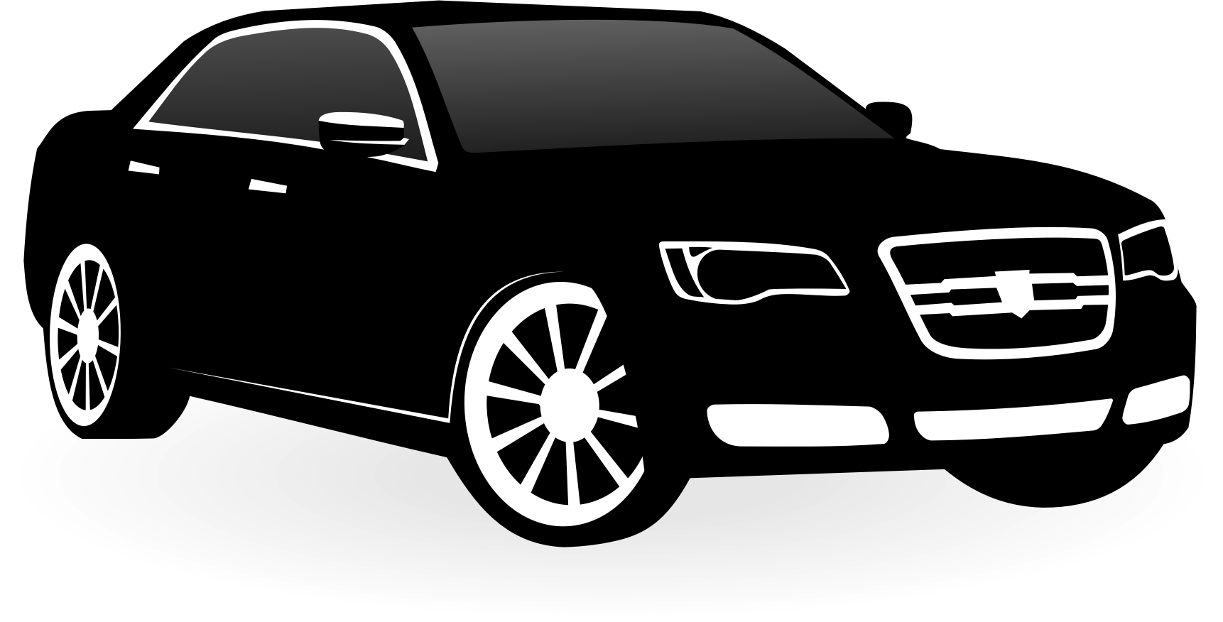 Chrysler c big image. Clipart car vector
