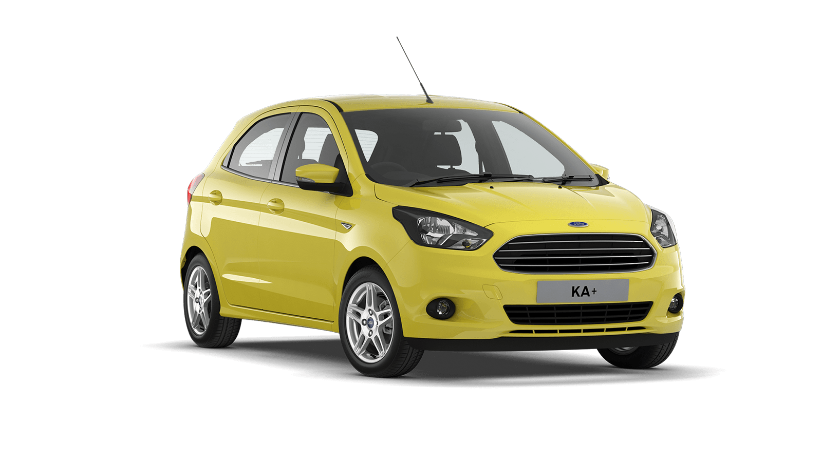 Ford ka plus png. Clipart car yellow