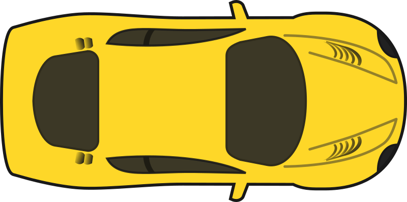 Clipart car yellow. Free to use and