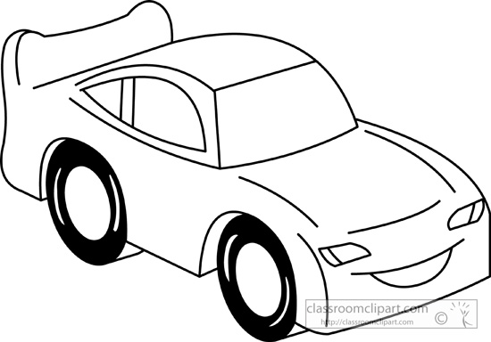 Clipart cars black and white. Car free images