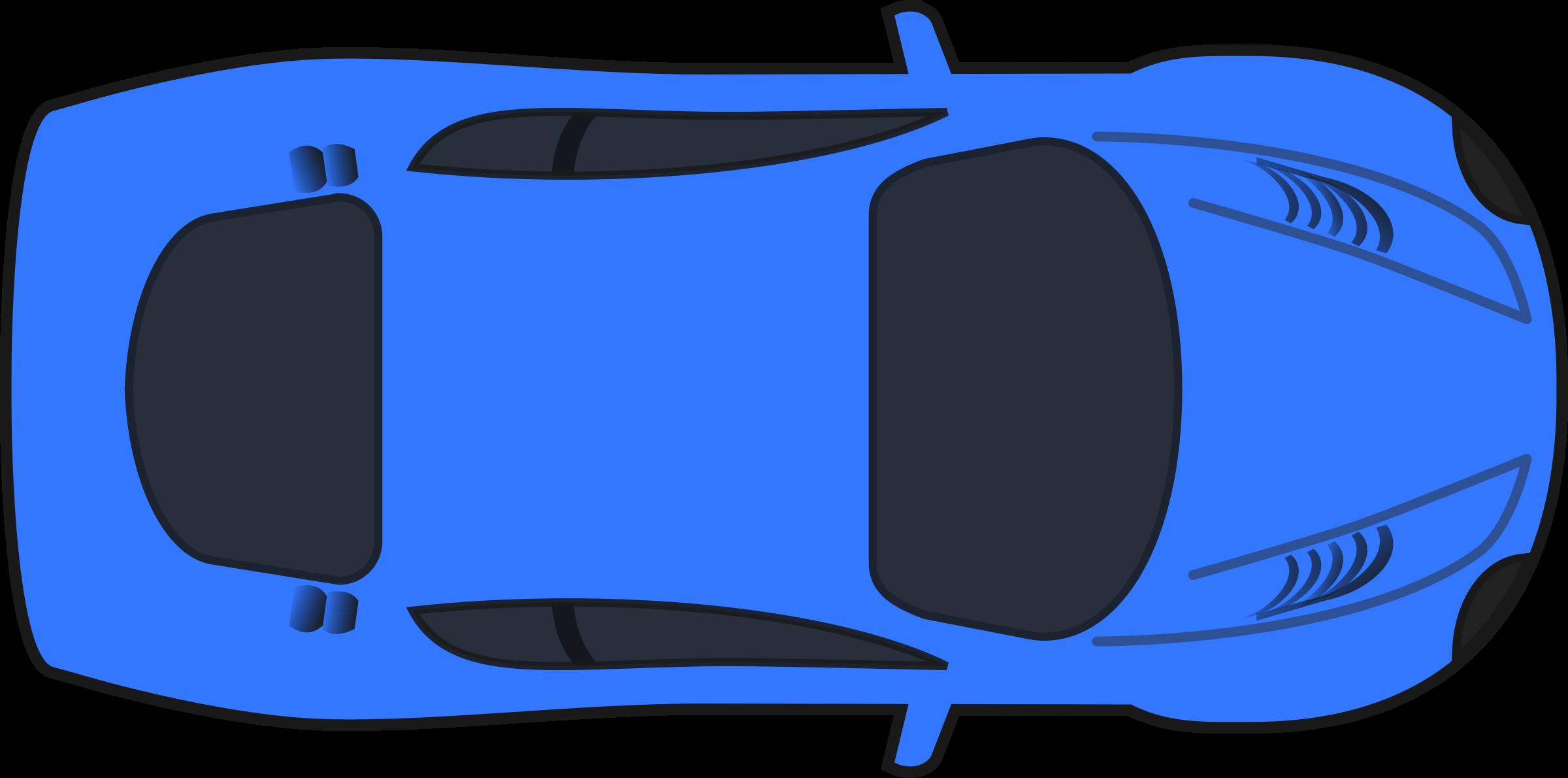 Dark blue racing car. Race clipart colorful