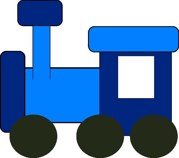 Blue clip art at. Engine clipart train conductor