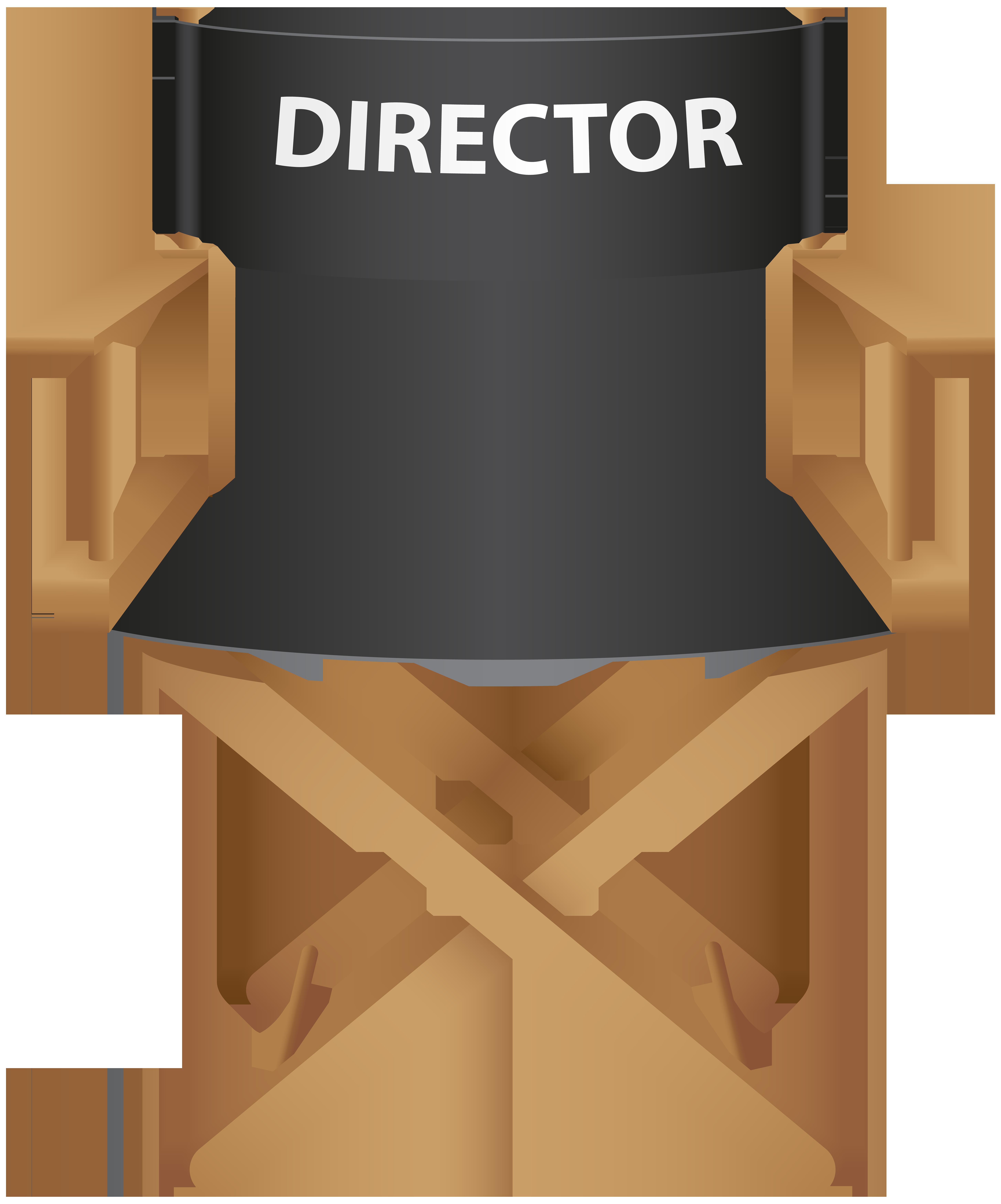 Clipart chair wooden chair. Directors png clip art