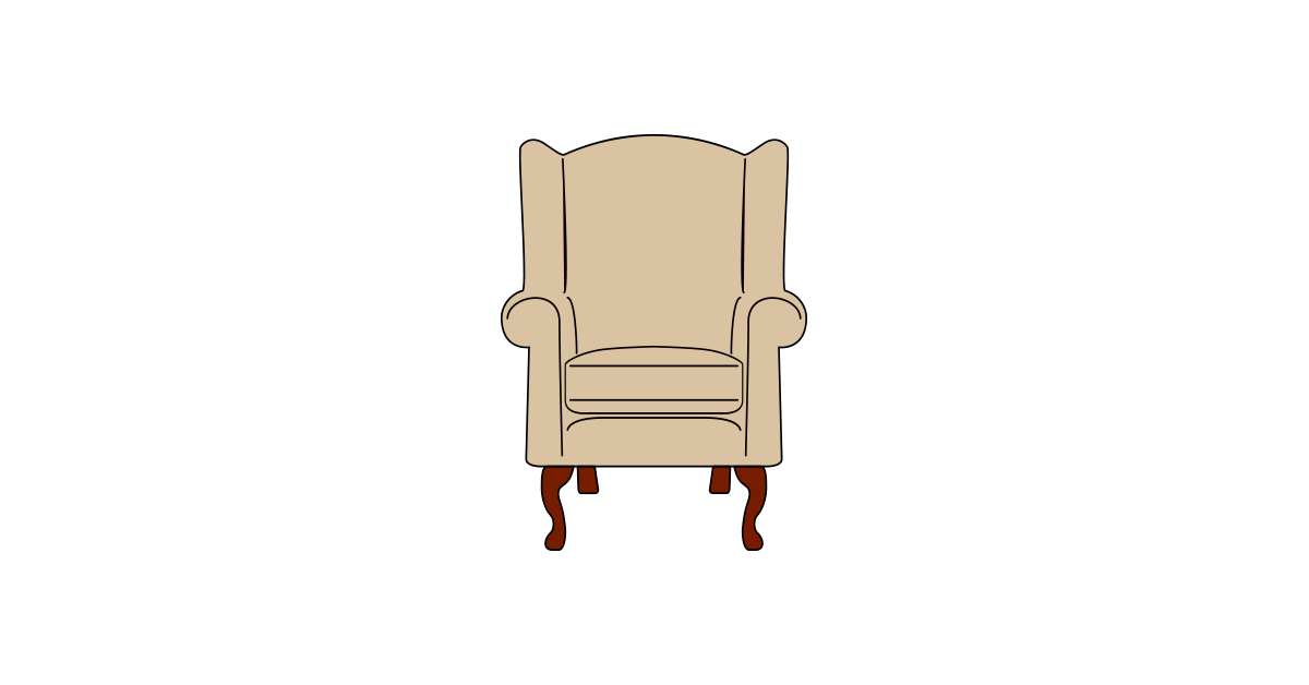 Armchair and png free. Furniture clipart vector