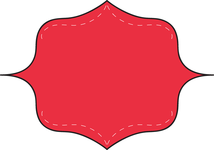 Fancy red car clipground. Square clipart curvy