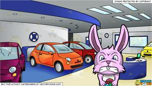 A maddened bunny with. Clipart cars easter