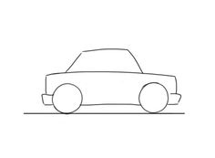 Clipart cars easy. Car