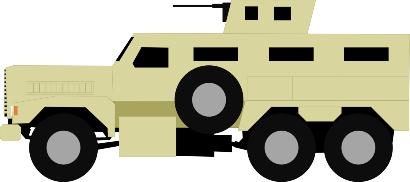 Odin armed forces bonecrusher. Military clipart military truck