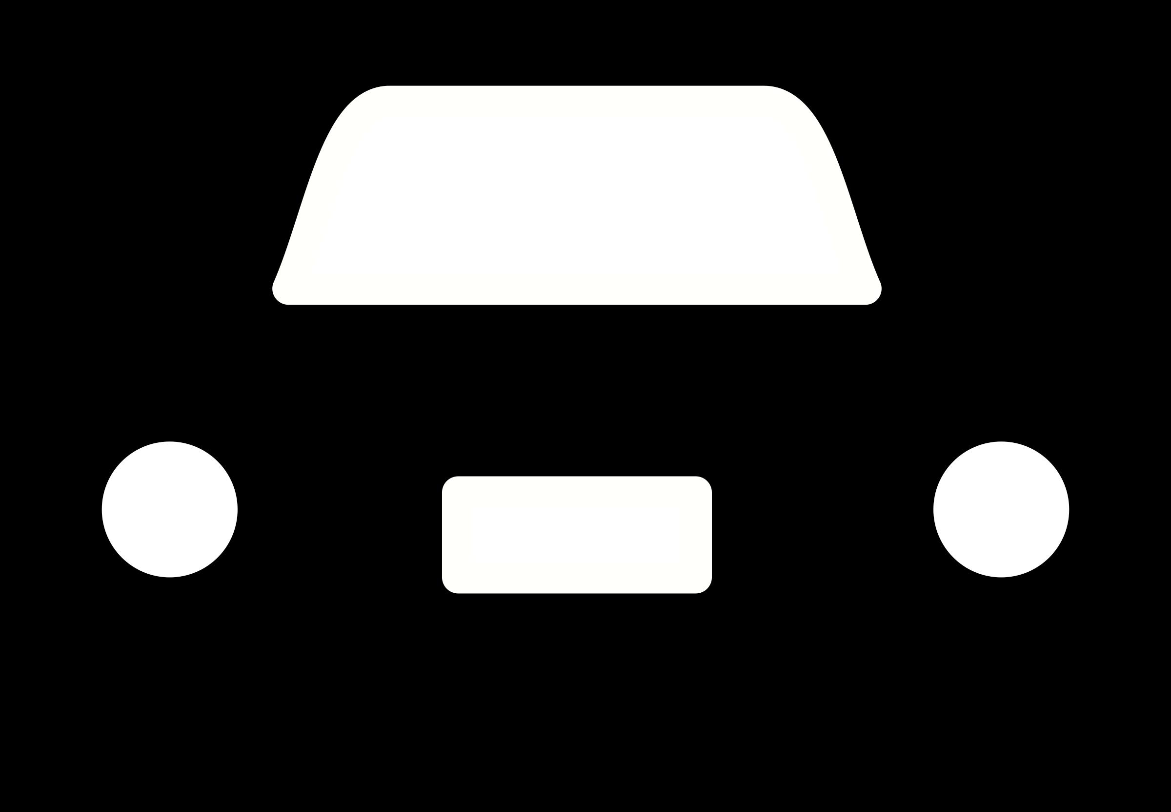 Clipart cars face. Car pictogram