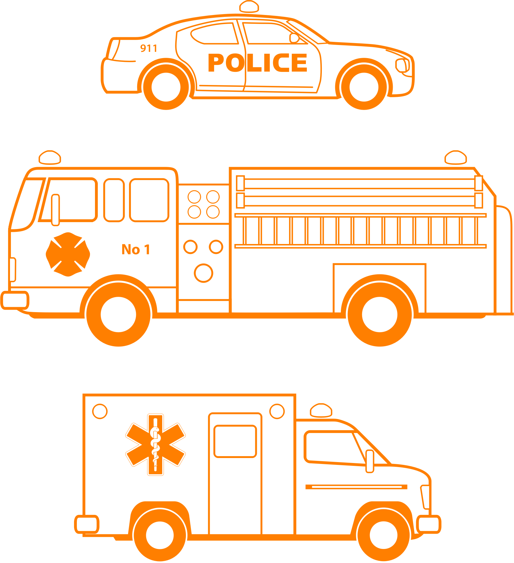 Police ema by bnsonger. Clipart cars fire
