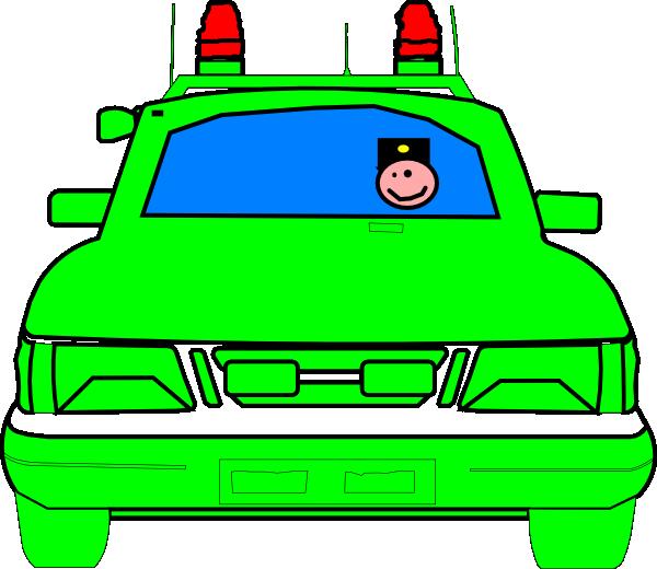 Police car clip art. Clipart door futuristic