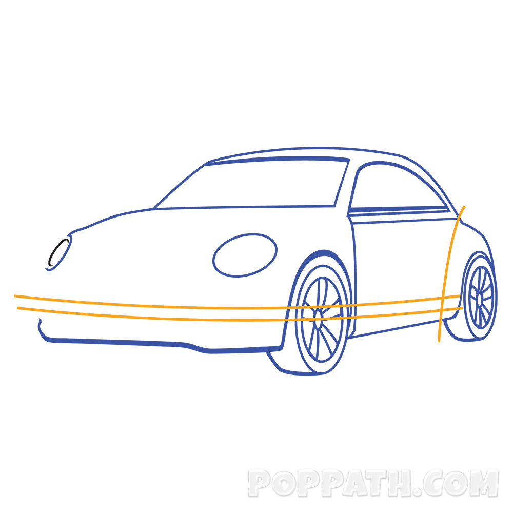 How to draw a. Clipart cars headlight