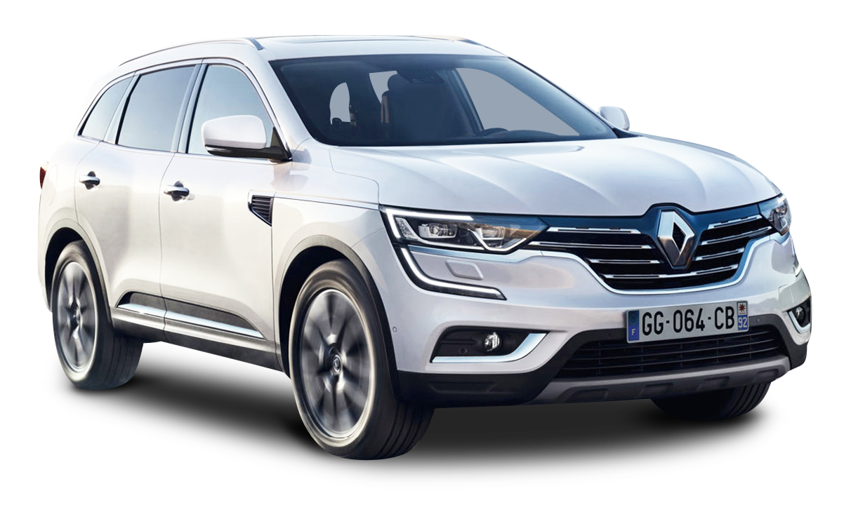 Renault koleos white car. Clipart cars impala