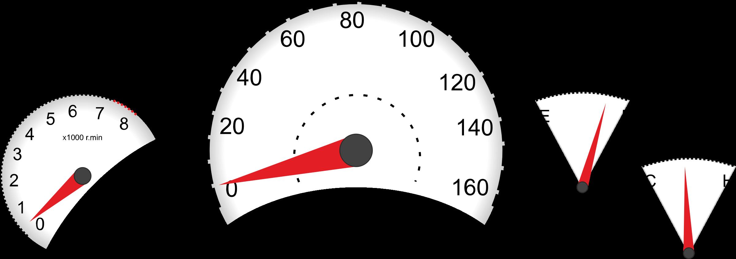 Car dashboard instruments big. Clipart cars meter