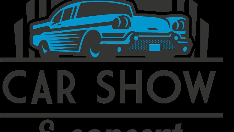 Car show concert centennial. Clipart cars muscle