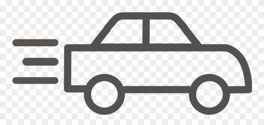 Clipart cars outline. Car transportation transparent