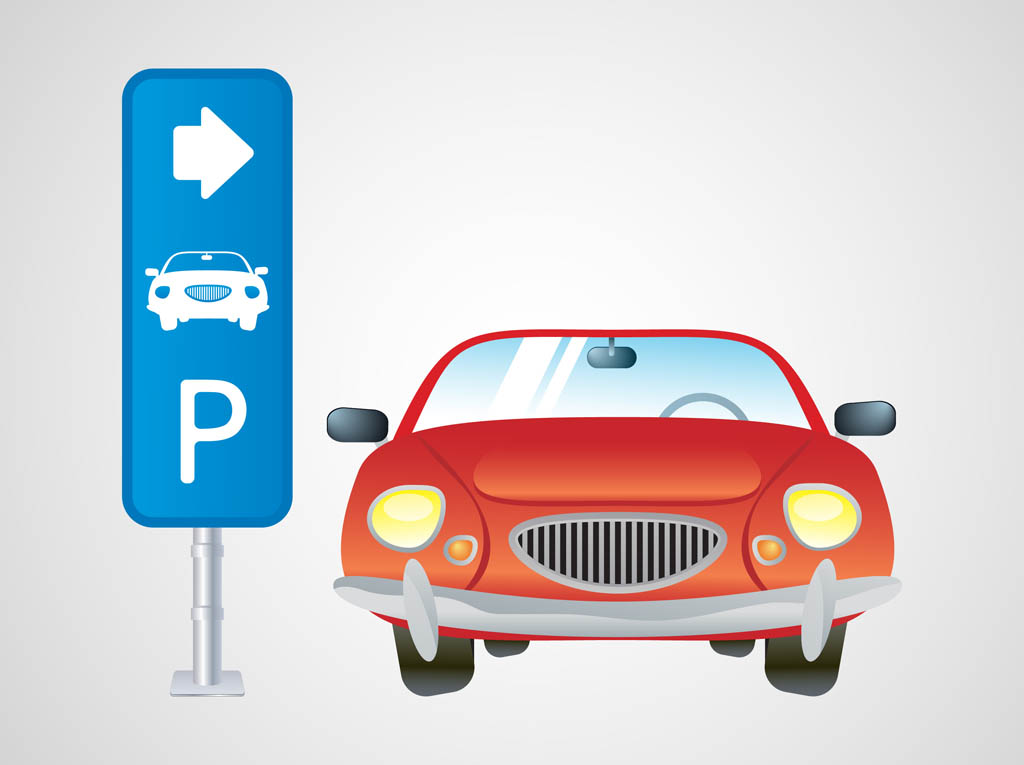 Free parked cars cliparts. Parking lot clipart vehicle parking