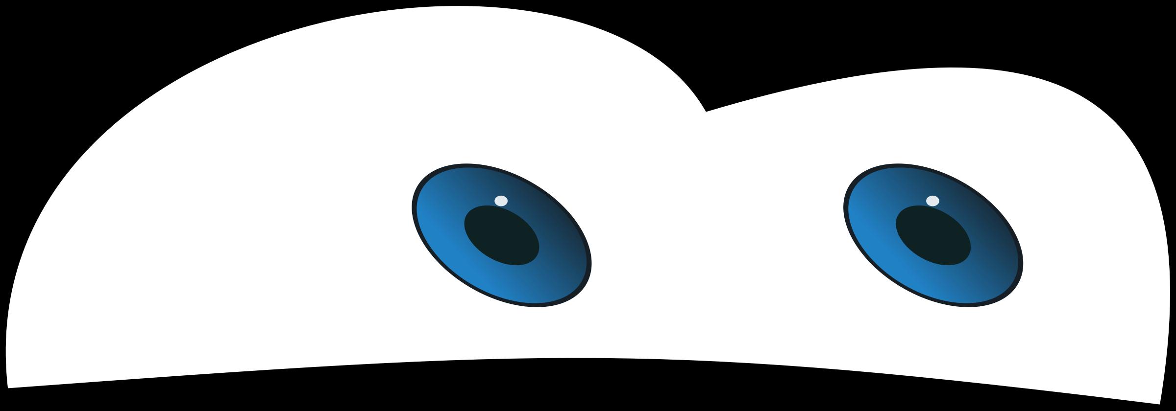 Car eye frames illustrations. Clipart cars pencil