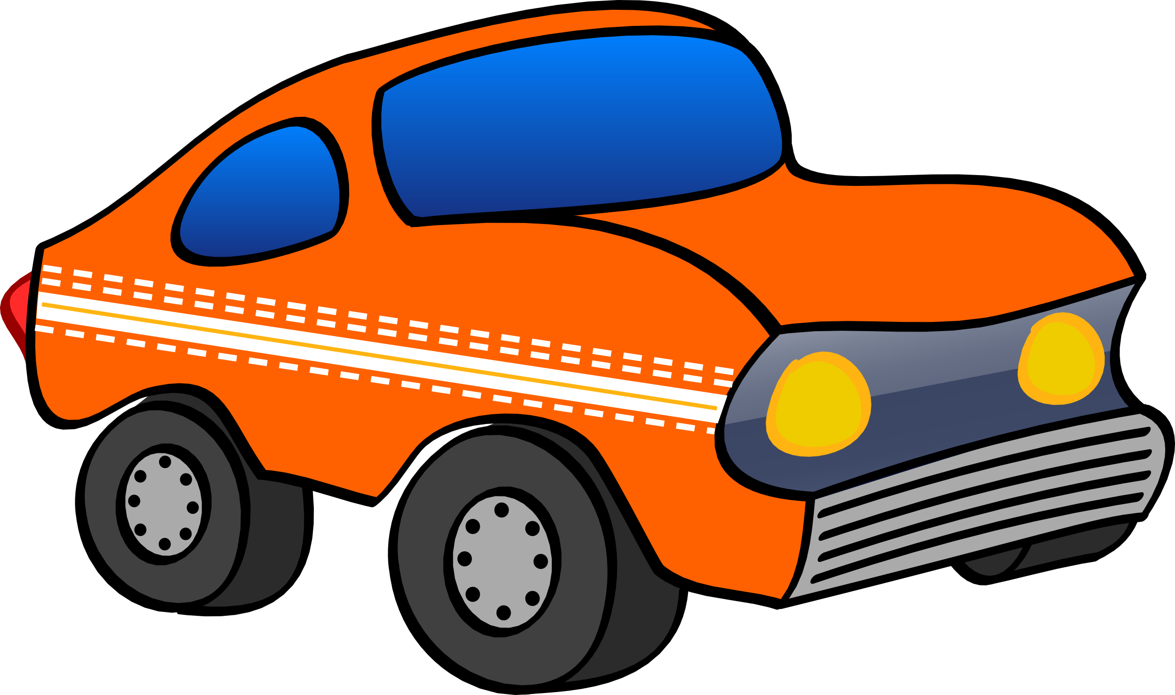 Clipart cars pencil. Car funny and in