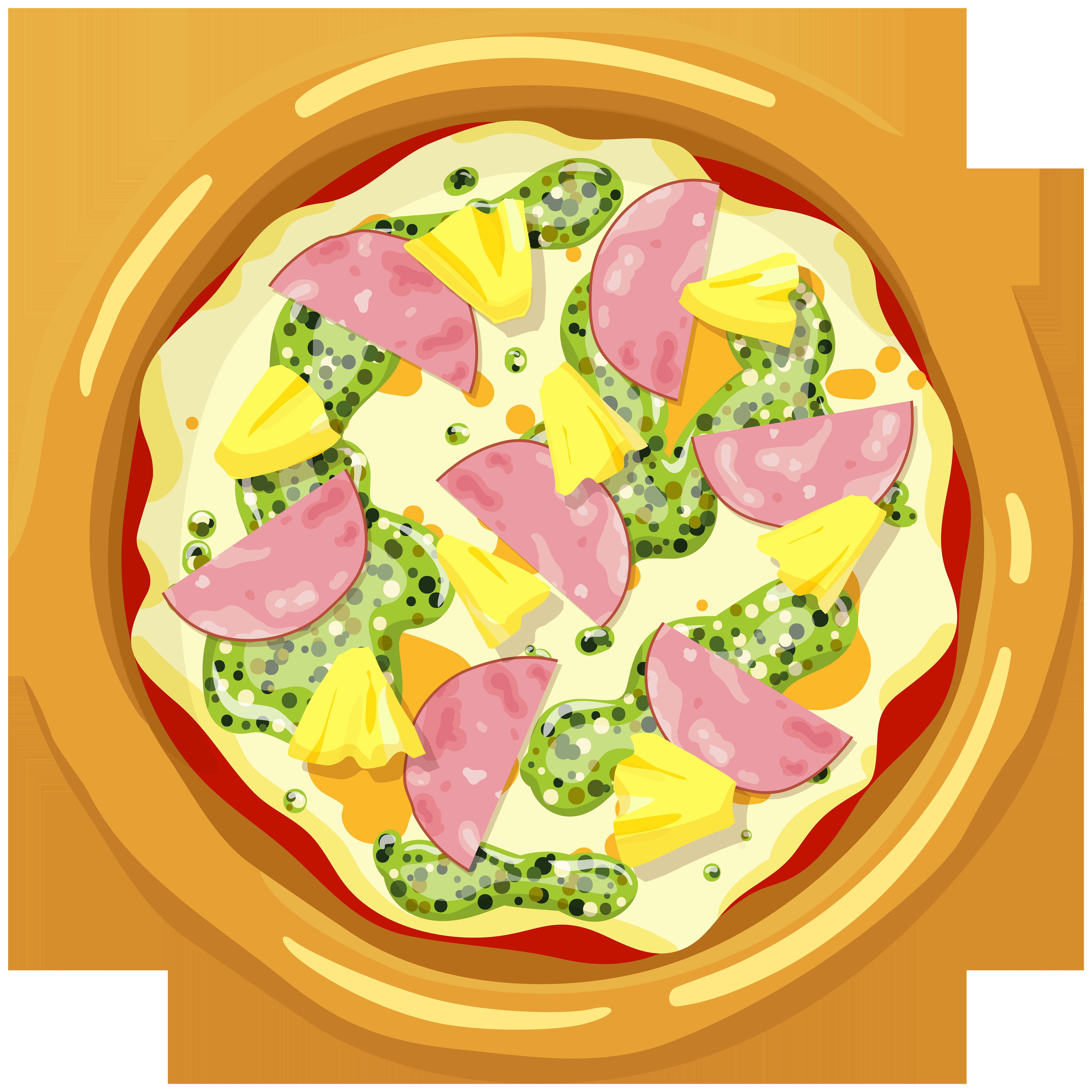 Ham clipart easter food. Pizza png clip art