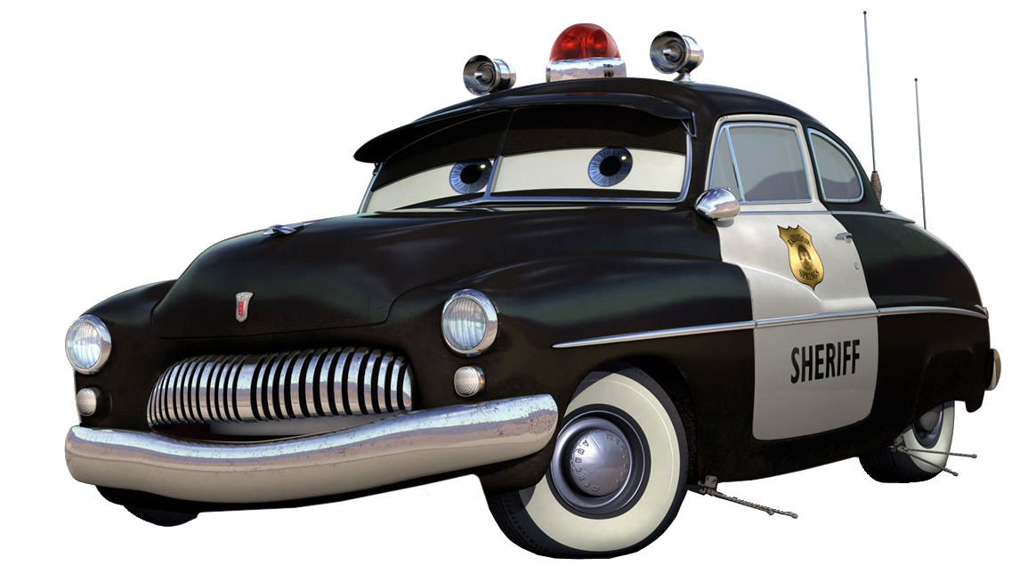Clipart cars plan. Sheriff mater the car