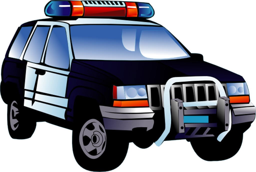 Clipart cars police. Collection of car images