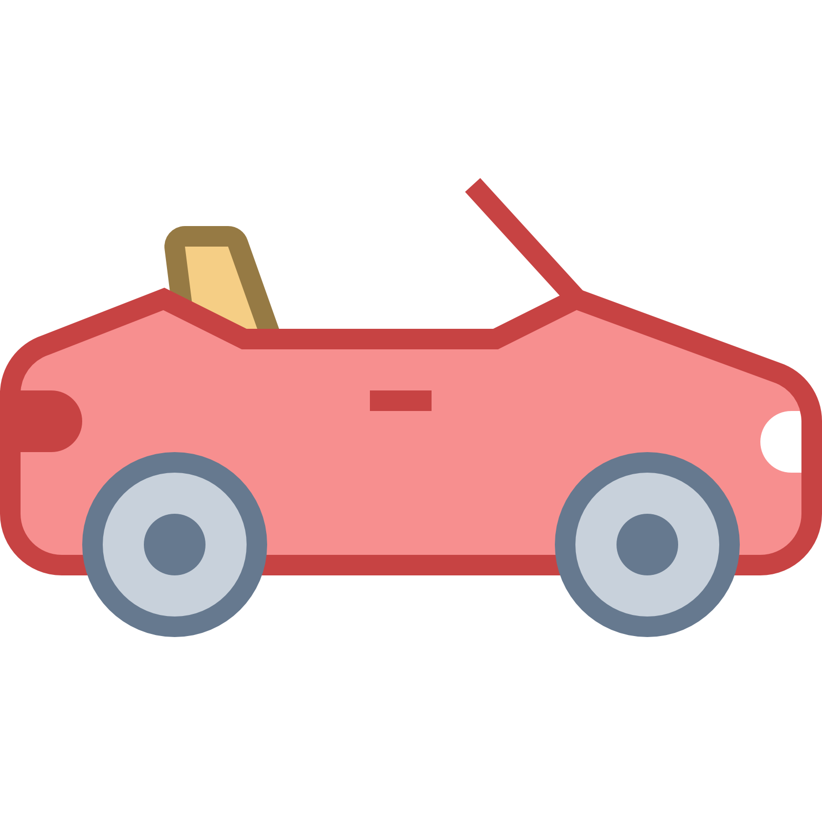 Clipart cars profile. Convertible car cliparts free