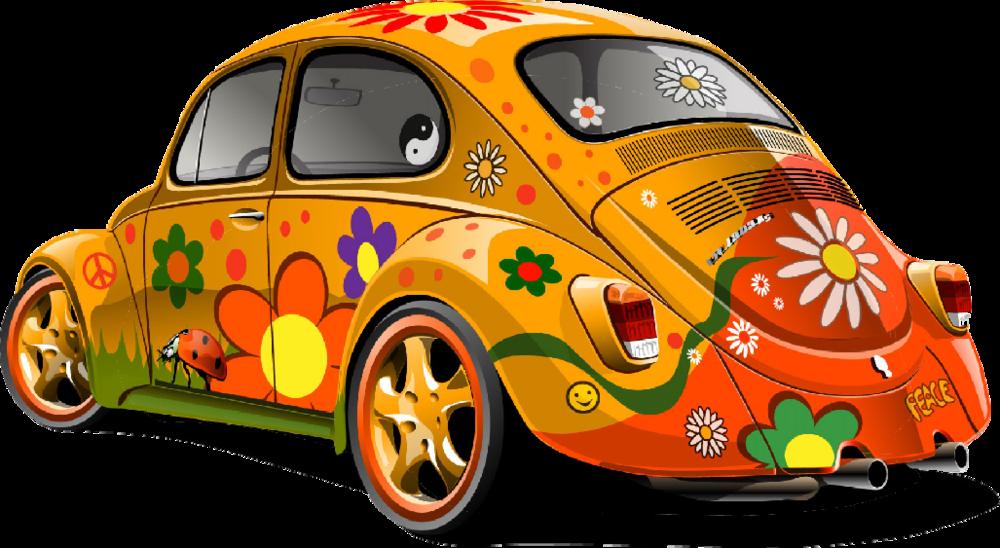 Clipart cars psd. Vw bug car official