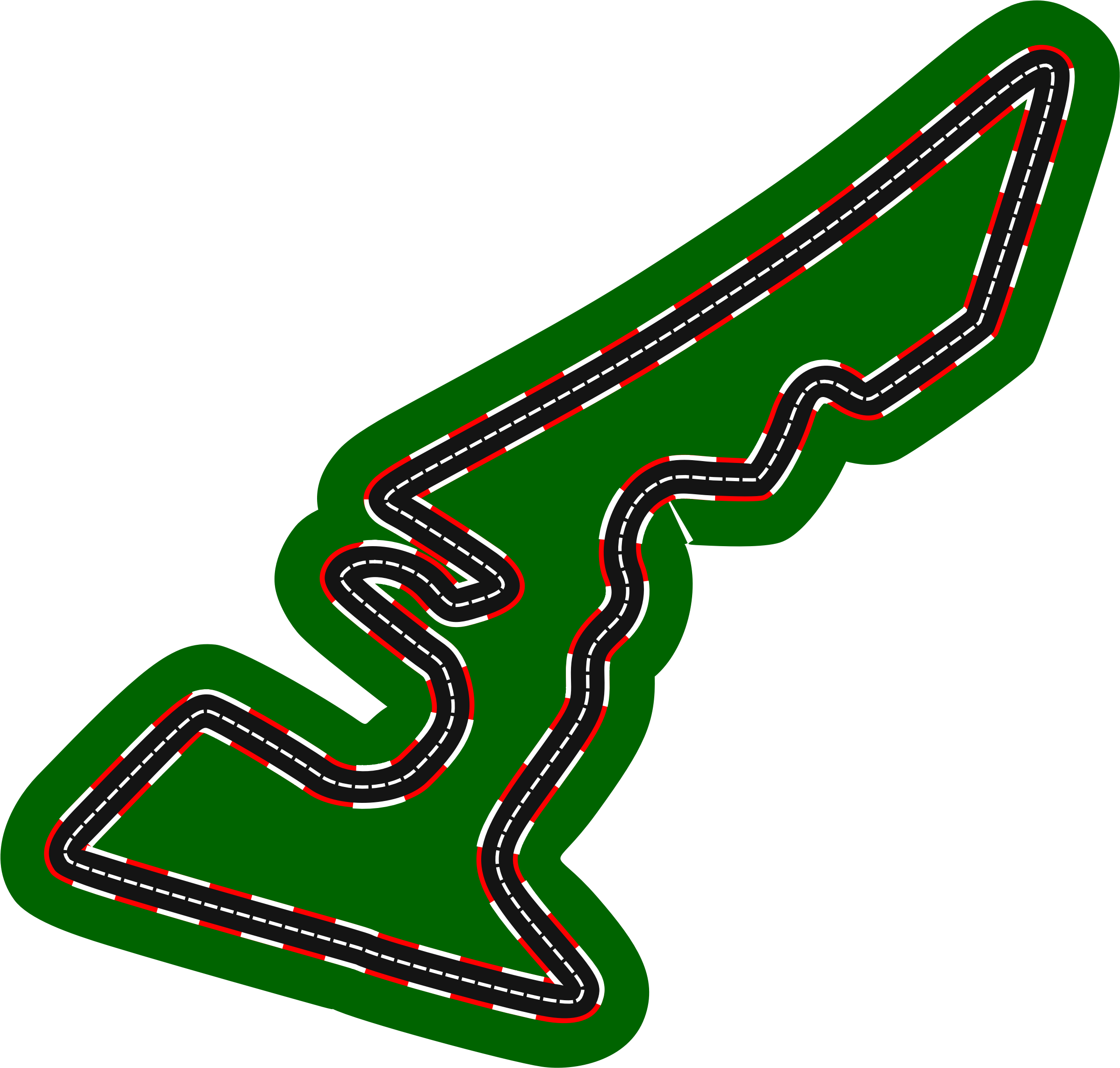 Race clipart racecourse. F circuits circuit of