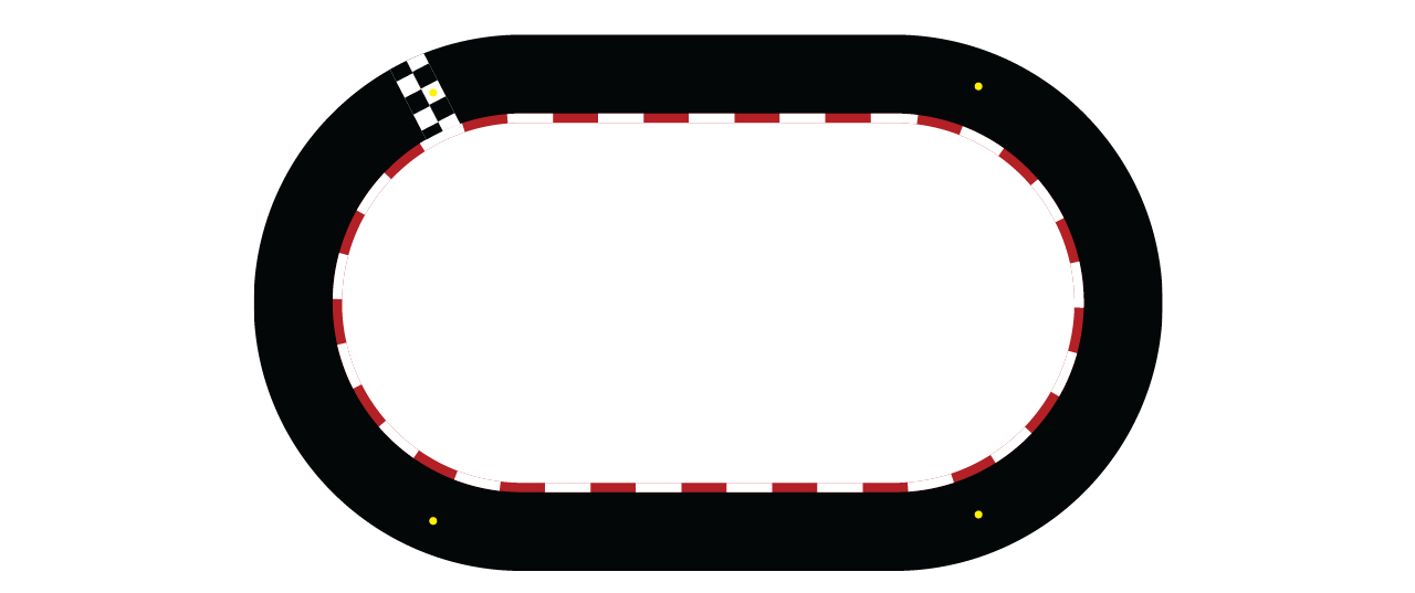 collection of oval. Race clipart racecourse